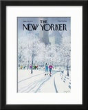 The New Yorker Cover - January 29, 1979 Framed Giclee Print by Charles Saxon