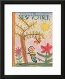 The New Yorker Cover - May 9, 1953 Framed Giclee Print by William Steig