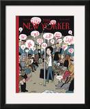 The New Yorker Cover - February 12, 2007 Framed Giclee Print by David Heatley