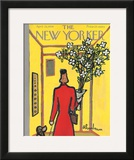 The New Yorker Cover - April 25, 1959 Framed Giclee Print by Abe Birnbaum