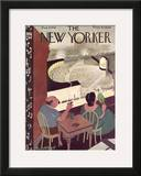The New Yorker Cover - August 8, 1936 Framed Giclee Print by Arnold Hall