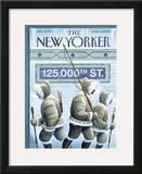 The New Yorker Cover - March 6, 2006 Framed Giclee Print by Eric Drooker