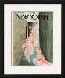 The New Yorker Cover - March 2, 1963 Framed Giclee Print by Susanne Suba