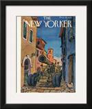 The New Yorker Cover - October 7, 1944 Framed Giclee Print by Alan Dunn