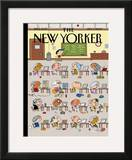 The New Yorker Cover - September 7, 2009 Framed Giclee Print by Ivan Brunetti
