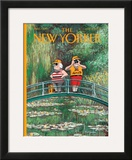 The New Yorker Cover - June 5, 2000 Framed Giclee Print by Ian Falconer