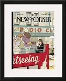 The New Yorker Cover - June 11, 2007 Framed Giclee Print by Adrian Tomine