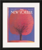 The New Yorker Cover - October 13, 1986 Framed Giclee Print by Merle Nacht