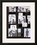 The New Yorker Cover - June 6, 2005 Framed Giclee Print by Christoph Niemann