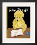 The New Yorker Cover - February 1, 1999 Framed Giclee Print by Maira Kalman