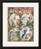The New Yorker Cover - May 9, 1994 Framed Giclee Print by Edward Sorel