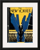 The New Yorker Cover - October 17, 1925 Framed Giclee Print by Max Ree