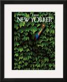The New Yorker Cover - April 7, 2008 Framed Giclee Print by Mark Ulriksen