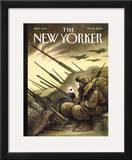The New Yorker Cover - February 10, 2003 Framed Giclee Print by Carter Goodrich