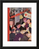 The New Yorker Cover - February 9, 1935 Framed Giclee Print by William Cotton
