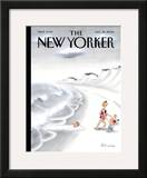 The New Yorker Cover - August 28, 2006 Framed Giclee Print by Ian Falconer
