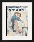 The New Yorker Cover - December 6, 2010 Framed Giclee Print by Barry Blitt