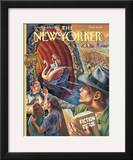 The New Yorker Cover - June 24, 1996 Framed Giclee Print by Owen Smith