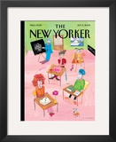 The New Yorker Cover - September 2, 2002 Framed Giclee Print by Maira Kalman
