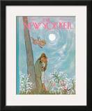 The New Yorker Cover - June 19, 1965 Framed Giclee Print by William Steig