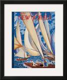The New Yorker Cover - July 9, 1949 Framed Giclee Print by Garrett Price