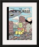 The New Yorker Cover - June 8, 2009 Framed Giclee Print by Dan Clowes