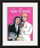 The New Yorker Cover - June 13, 1994 Framed Giclee Print by Jacques de Loustal