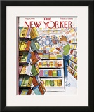 The New Yorker Cover - August 11, 1962 Framed Giclee Print by Arthur Getz