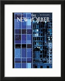 The New Yorker Cover - December 24, 2007 Framed Giclee Print by Kim DeMarco