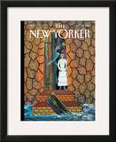The New Yorker Cover - January 25, 2010 Framed Giclee Print by Frantz Zephirin