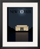 The New Yorker Cover - November 17, 2008 Framed Giclee Print by Bob Staake