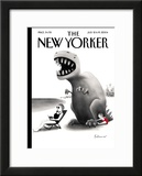 The New Yorker Cover - July 12, 2004 Framed Giclee Print by Ian Falconer