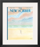 The New Yorker Cover - August 11, 1997 Framed Giclee Print by Jean-Jacques Semp&#233;