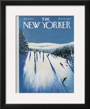 The New Yorker Cover - January 20, 1973 Framed Giclee Print by Arthur Getz