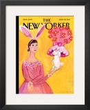 The New Yorker Cover - April 25, 2011 Framed Giclee Print by Maira Kalman