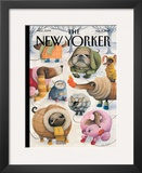 The New Yorker Cover - February 8, 2010 Framed Giclee Print by Ana Juan