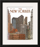 The New Yorker Cover - February 1, 1982 Framed Giclee Print by Roxie Munro