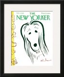The New Yorker Cover - February 13, 1965 Framed Giclee Print by Abe Birnbaum