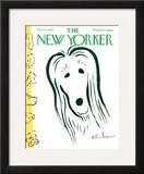 The New Yorker Cover - February 13, 1965 Framed Giclee Print by Abe Birnbaum