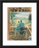 The New Yorker Cover - May 13, 1961 Framed Giclee Print by Perry Barlow