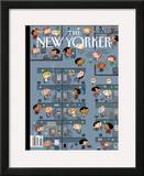 The New Yorker Cover - March 2, 2009 Framed Giclee Print by Ivan Brunetti