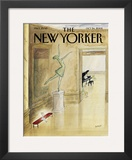 The New Yorker Cover - October 24, 2005 Framed Giclee Print by Jean-Jacques Semp&#233;