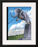 The New Yorker Cover - November 20, 2006 Framed Giclee Print by Mark Ulriksen