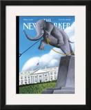 The New Yorker Cover - November 20, 2006 Framed Giclee Print by Mark Ulriksen