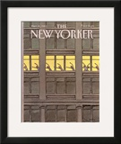 The New Yorker Cover - March 21, 1983 Framed Giclee Print by Roxie Munro
