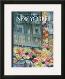 The New Yorker Cover - April 23, 2007 Framed Giclee Print by Carter Goodrich