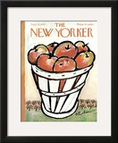 The New Yorker Cover - September 30, 1967 Framed Giclee Print by Abe Birnbaum