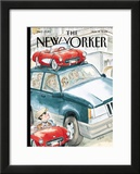 The New Yorker Cover - August 13, 2001 Framed Giclee Print by Barry Blitt