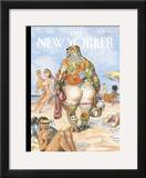 The New Yorker Cover - August 29, 2005 Framed Giclee Print by Peter de S&#232;ve