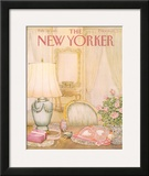 The New Yorker Cover - February 18, 1985 Framed Giclee Print by Jenni Oliver